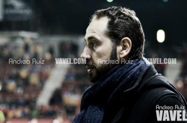 """Pablo Machín: """"Para los rivales cada vez es más difícil llevarse un punto de Montilivi"""""""