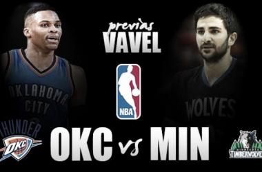Previa Minnesota Timberwolves vs Oklahoma City Thunder: los cachorros, a por la bestia