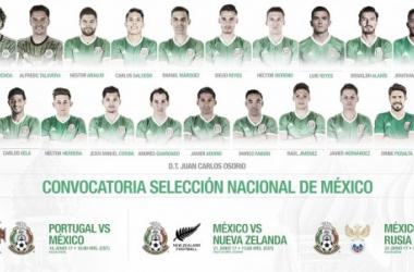 23 Guerreros Águila en Rusia   Foto de Selección Mexicana