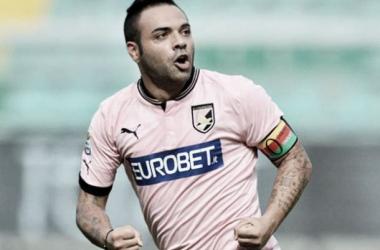 Fabrizio Miccoli ai tempi del Palermo