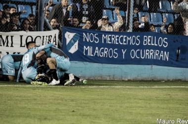 El Gasolero tiene la necesidad de ganar este sábado frente a Talleres. Foto: Prensa Temperley (Mauro Rey)
