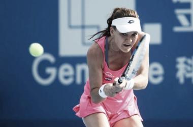 Radwanska produced a solid week of tennis (Source: Reuters)