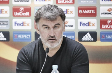 """Christophe Galtier: """"Esta victoria es muy importante"""""""