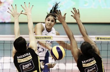 Natália foi eleita a melhor jogadora da decisão da Superliga (Foto: Divulgação/CBV)
