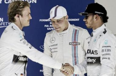 Qualifications : Rosberg devance Hamilton