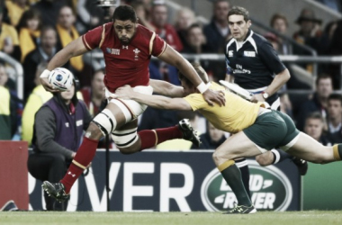 Faletau in action against Australia at the World Cup (image via: telegraph)