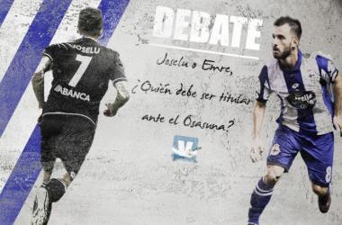 Debate: Joselu o Emre, ¿Quién debe ser titular ante el Osasuna?