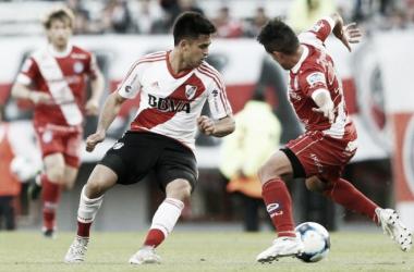 El ultimo encuentro entre ambos fue empate en uno. Gonzalo Martínezfue el autor del gol millonario. FOTO: La Pagina Millonaria