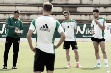 Segunda sesión dirigida por Alexis Trujillo | Foto: Real Betis Balompié
