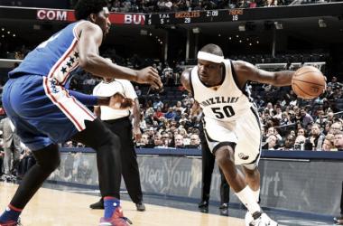 Los Grizzlies no dieron opción en ningún momento a los SIxers   Foto: NBA.com