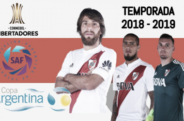 Leonardo Ponzio, Jonatan Maidana y Franco Armani, tres pilares en la estructura de River Plate. FOTO: Nicolás Kralj.