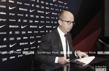 Jordi Cardoner, en rueda de prensa | Santigo Arxé - VAVEL