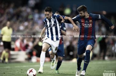 El último partido de Sobrino como albiazul fue en la final de Copa | Fotografía: PhotoSilver / VAVEL