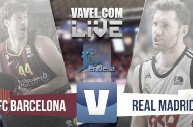 Resultado final Barcelona Bàsket - Real Madrid Baloncesto en ACB 2015 (85-90)