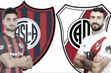 Nicolás Blandi y Lucas Pratto, las apuestas de los técnicos de cara al gol. FOTO: Nicolás Kralj