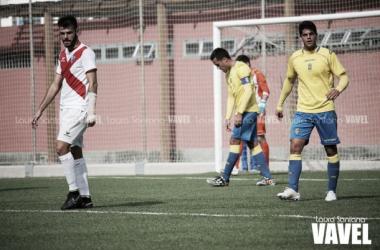 Fotos e imágenes del Las Palmas At. 1-2 Huesca, jornada 14 del Grupo II de Segunda B
