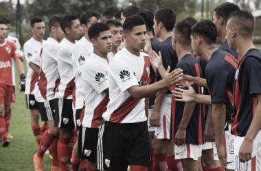 Los chicos de River Plate no obtuvieron buenos resultados ante sus pares de San Lorenzo. FOTO: CARP Oficial.