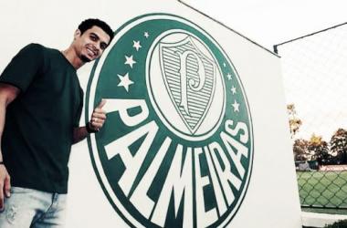 Palmeiras assina com lateral-esquerdo Egídio até 2017