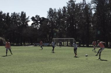 Amistoso entre los equipos del sur (Foto: Banfield oficial)