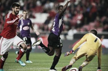 O Benfica venceu o Vitória de Setúbal e carimbou a passagem à final da Taça da Liga na passada quarta-feira. (Foto: LUSA)