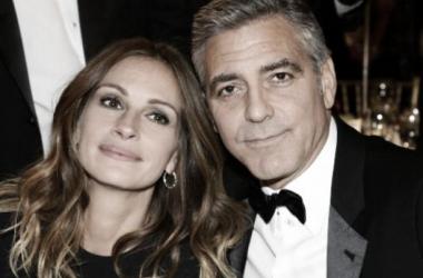George Clooney y Julia Roberts coincidirán de nuevo gracias a 'Money Monster' de Jodie Foster .Foto [sin efecto]: nydailynews.