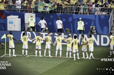 Colombia celebra su clasificación / FUENTE: FIFA World Cup Oficial