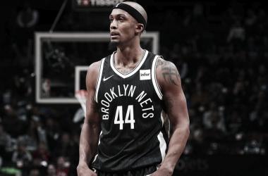Dante Cunningham disputando un encuentro con Brooklyn Nets. / Imagen vía @BrooklynNets