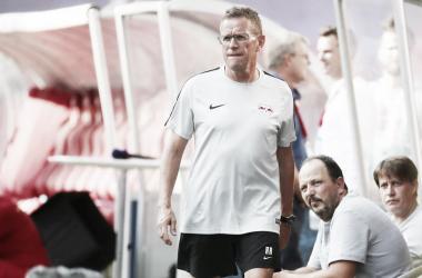 """Ralf Rangnick: """"La actitud, la mentalidad y el estilo de juego fueron un éxito"""""""