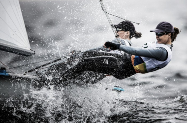 Brutal conditions' in a test of survival | photo: www.sailing.org
