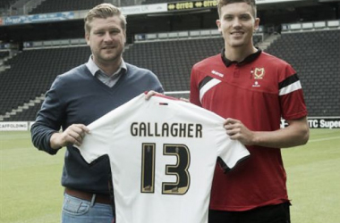 Gallagher, rumbo al MK Dons