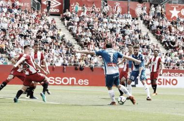 Gerard Moreno marca el primer gol del partido. Foto: RCD Espanyol.