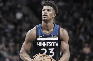 Jimmy Butler rechaza una extensión con Minnesota Timberwolves