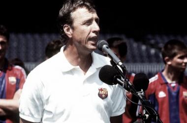 El último clásico de Johan Cruyff