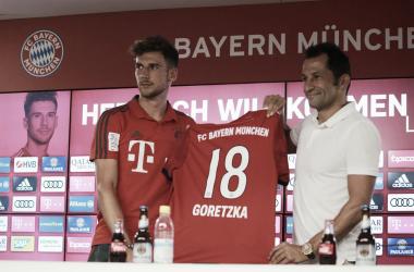 """Leon Goretzka: """"Feliz de estar en el Bayern, quiero lograr algo con este equipo"""""""