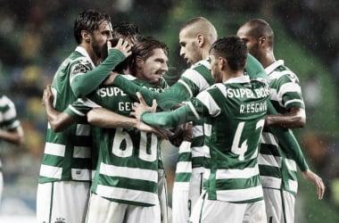 Leões seguem líderes (Foto: sporting.pt / César Santos)