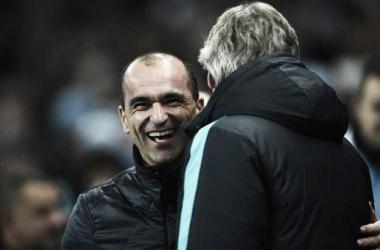 """Roberto Martínez: """"Estoy muy satisfecho con el equipo. Hay que aprovechar este buen momento"""""""