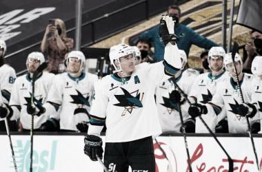 Patrick Marleau es el nuevo hombre de hierro en la NHL.| NHL.com.