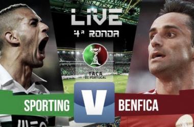 Resultado Sporting x Benfica na Taça de Portugal 2015 (2-1)