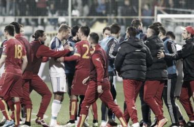 Montenegro penalizado com derrota e jogos à porta fechada
