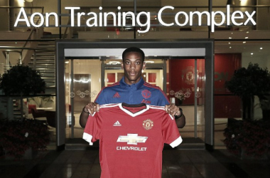 Martial signing for Manchester United on summer deadline day | Photo: Manchester United FC