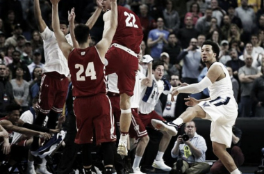 #8 Wisconsin's 65-62 defeat of overall top-seed Villanova was easily the tournament's biggest upset so far