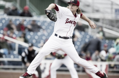 You may not have heard of him, but Jalen Beeks is looking like one of Boston's top pitching prospects right now.Brianna Soukup/Portland Press Herald Photographer