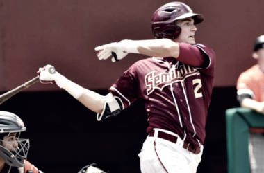 Lueck picks up his fourth and final RBI of the day, giving FSU the walk off win. FSU Athletics