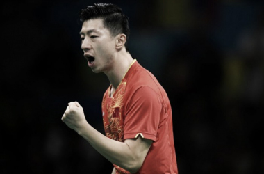 China got the gold medal in Men's Singles Table Tennis, courtesy of Ma Long. AFP/Jim Watson