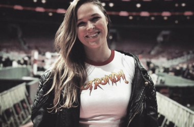 Ronda Rousey signs for WWE (Image: WWE)
