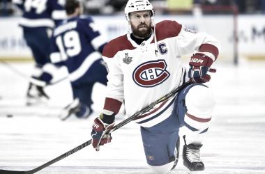 Shea Weber en partido correspondiente a la final de la Stanley Cup contra los Lightning - sportsgrindentertainment.com