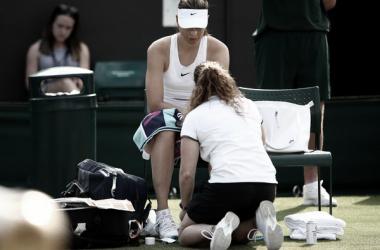 Hogstedt deja de ser entrenador de Sharapova