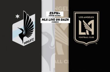 PREVIA Minnesota United - LAFC: Los Loons a por la épica. Fuente: MLS Soccer