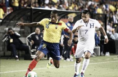Ecuador - Honduras, puntuaciones de Ecuador, jornada 2 grupo E