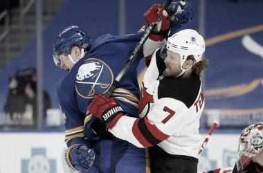 Los partidos de final de enero entre los Sabres y los Devils resultaron un foco de contagio - auburnpub.com
